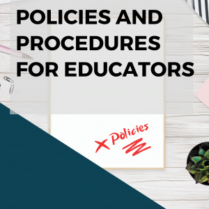 Policies and Procedures for family day care educators