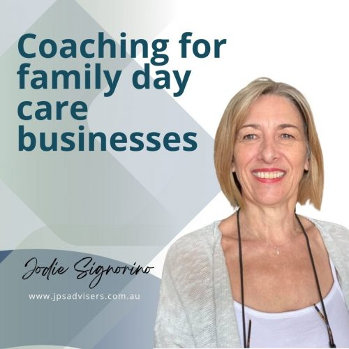 COACHING FOR FAMILY DAY CARE